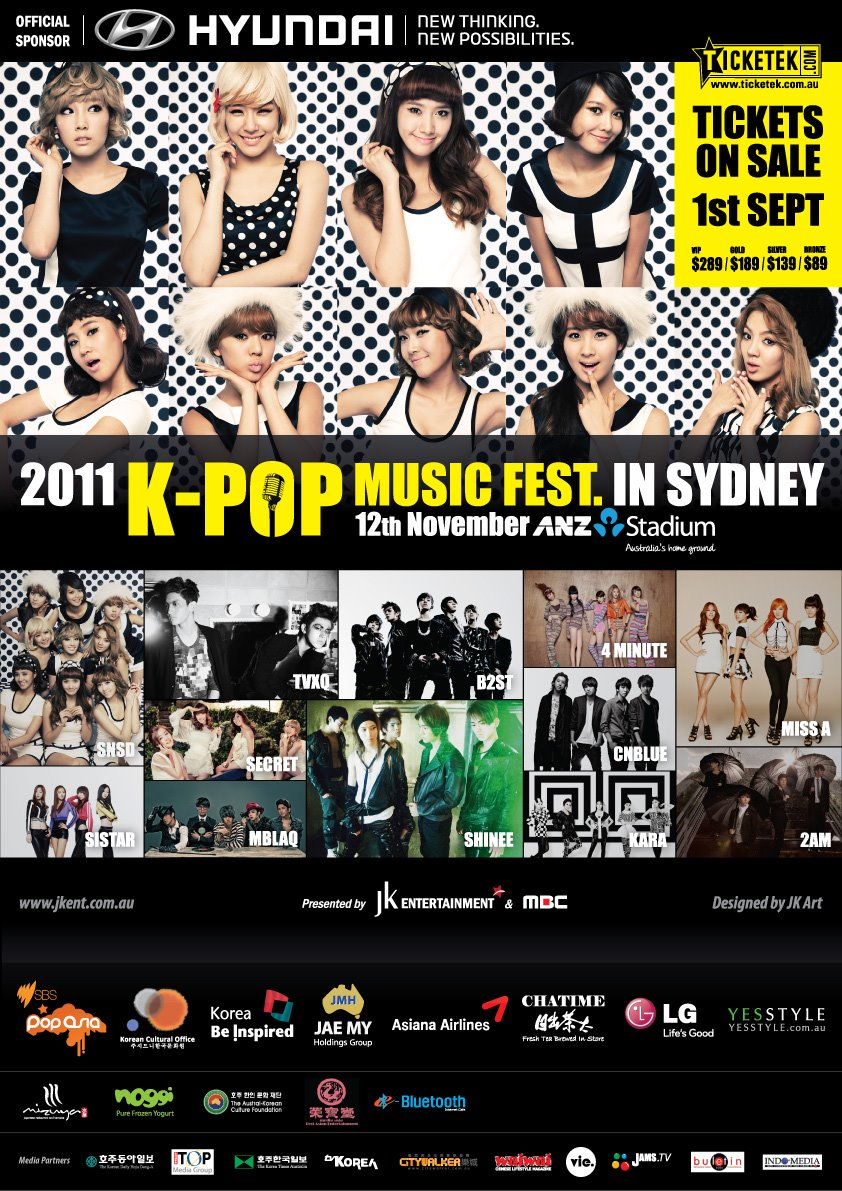 Dating k-pop in Sydney