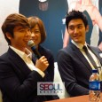 Just before the Super Show 4, Siwon and Donghae, together with Ivy Chen held a press conference to promote their drama, 'Skip Bea't/ 华丽的挑战'. This is the first Taiwanese drama...
