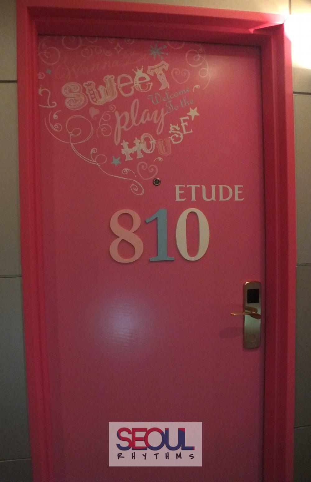 Skypark III, Seoul, Etude room