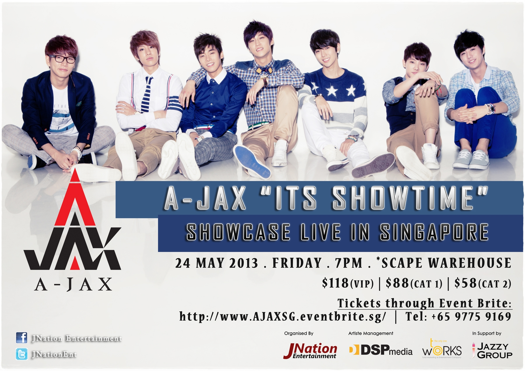 A-Jax concert poster