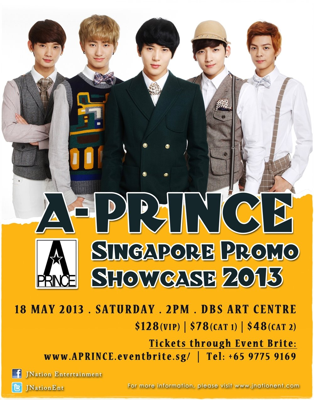 A-Prince concert poster