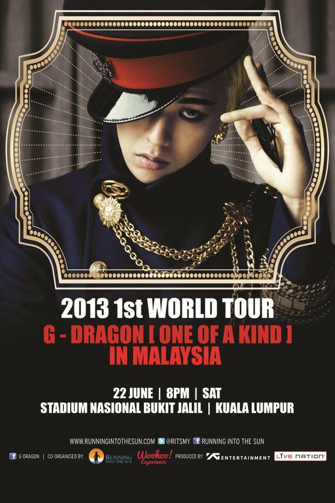 G Dragon Malaysia 2013