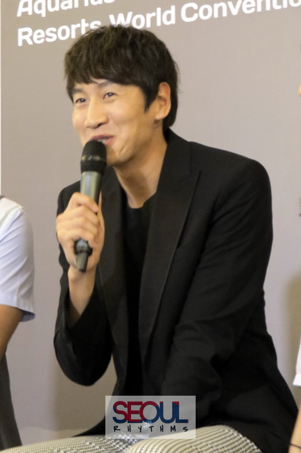 Lee Kwang Soo 7, Press Con, 170813