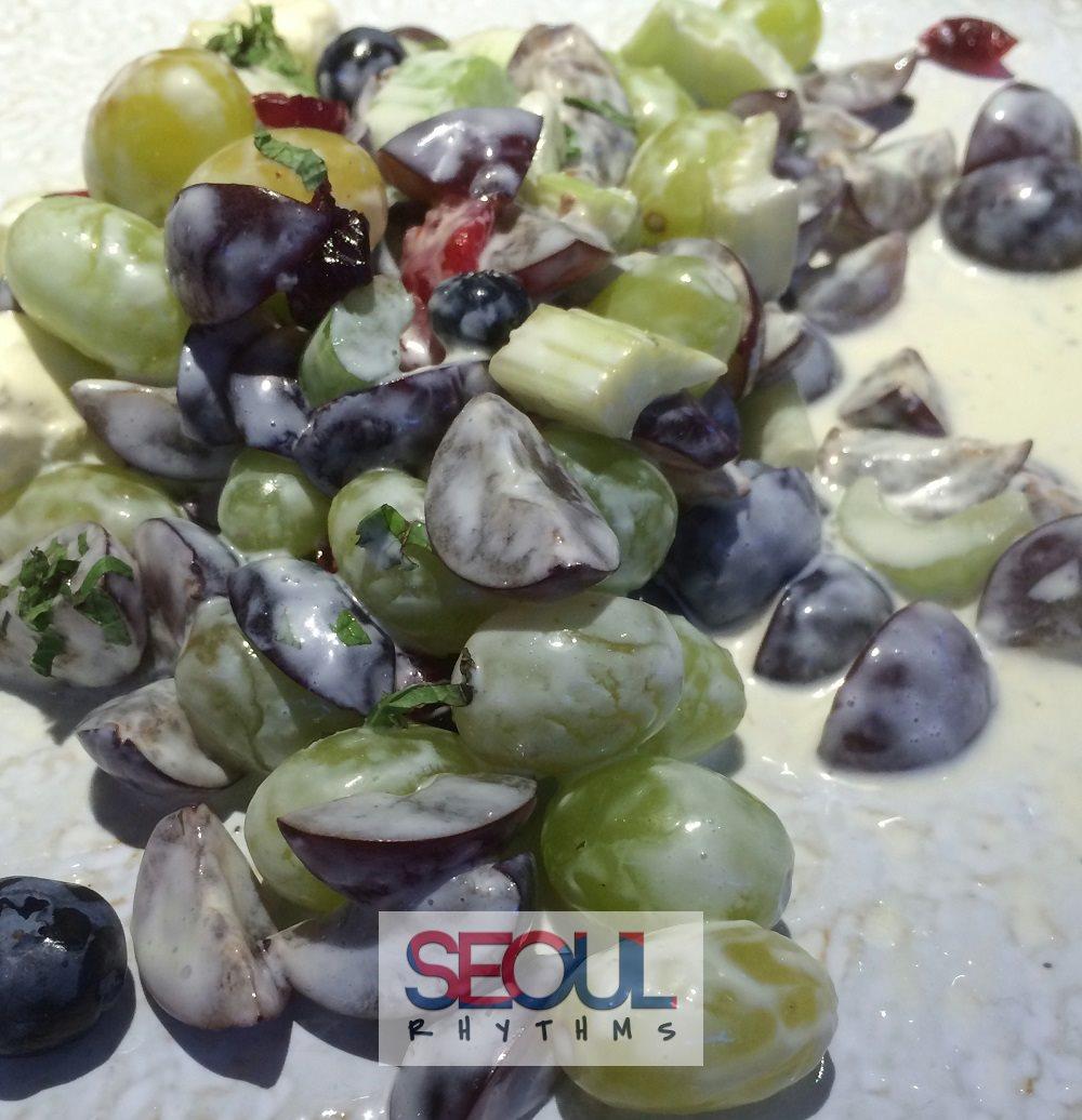 Todai, Grape salad 2