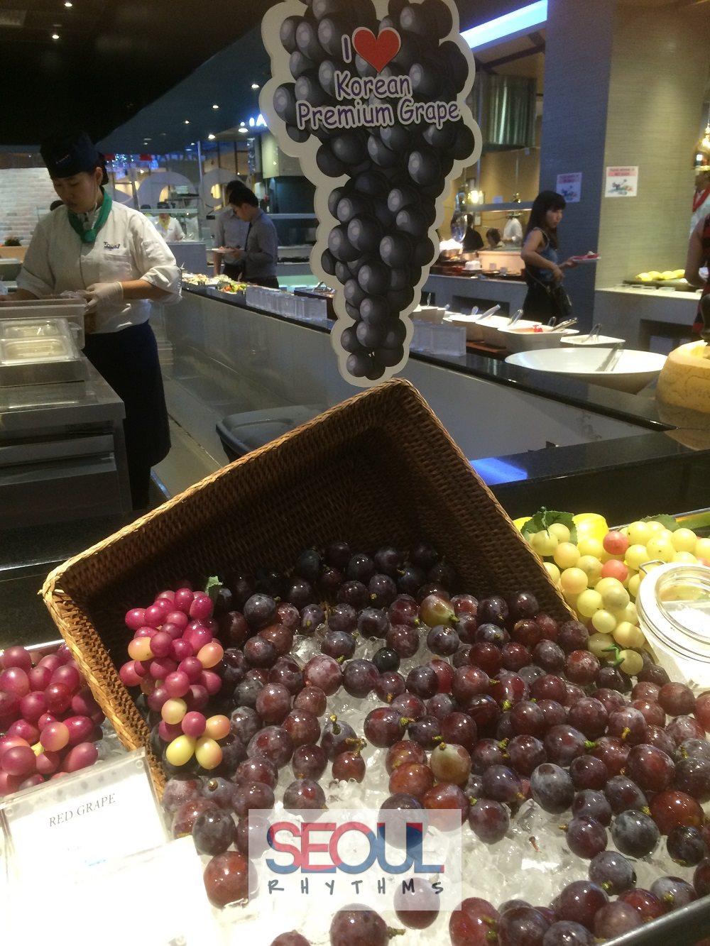 Todai, Korean grapes 3