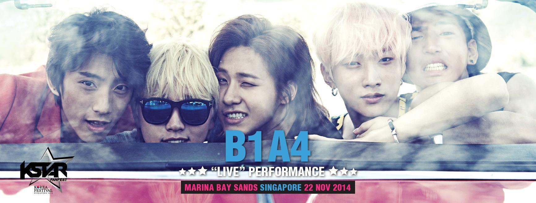 B1A4, K Star Fan Fest