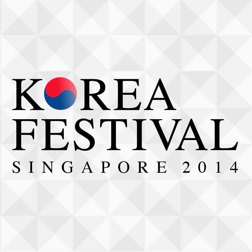Korea Festival Singapore 2014 logo