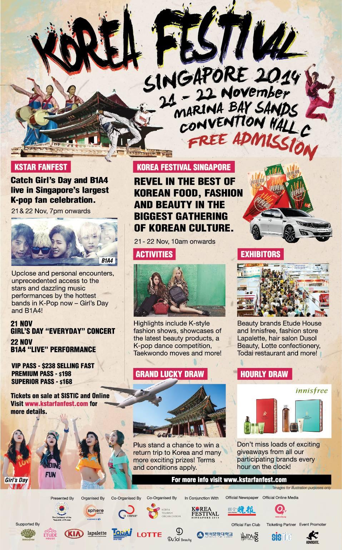 Korea Festival Singapore 2014