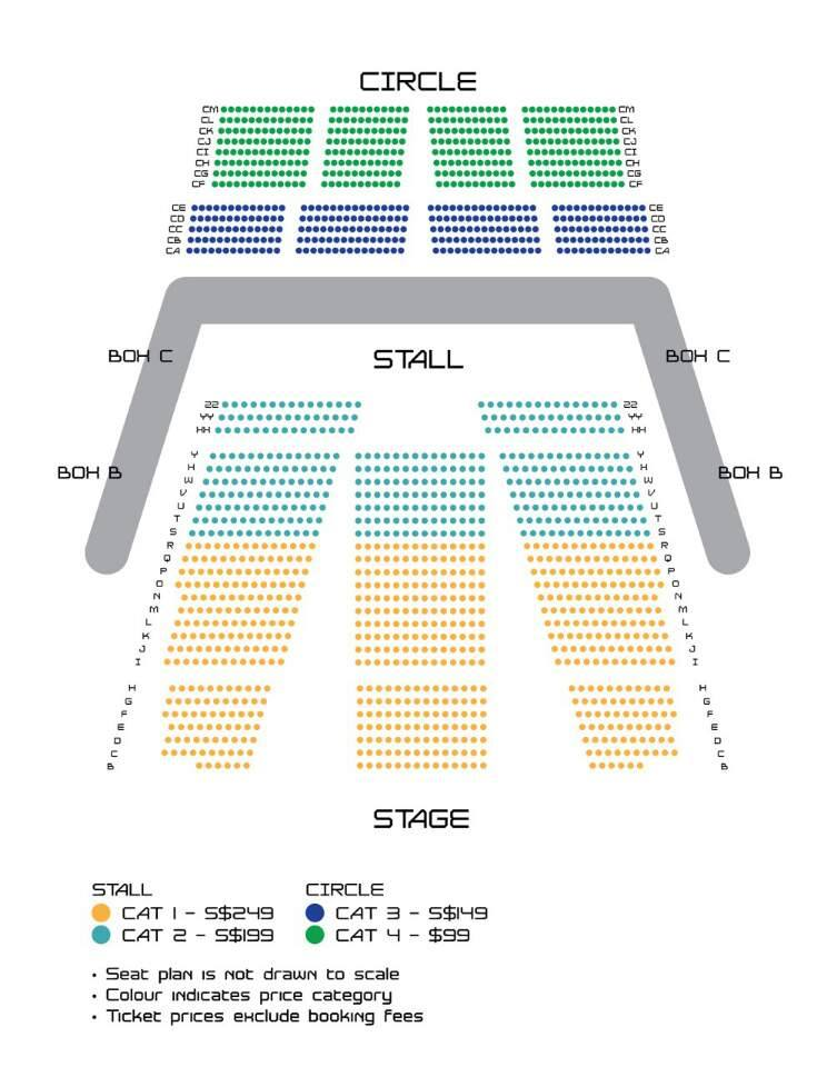 GOT7 Fan Meet seating plan
