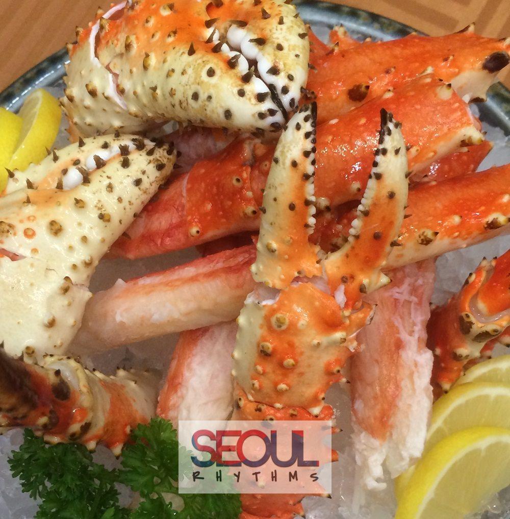 Todai, Birthday dishes, crab 2