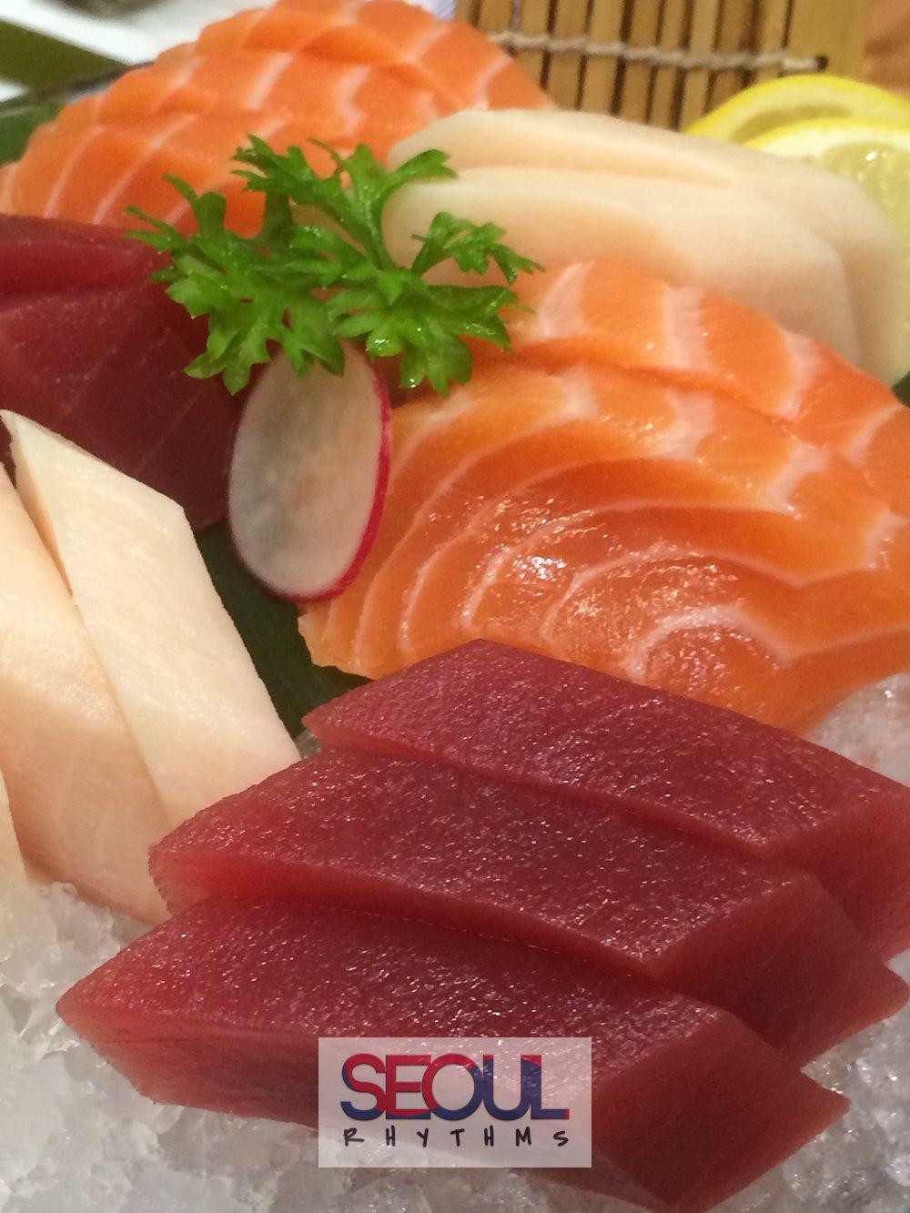 Todai, Birthday dishes, sashimi 3