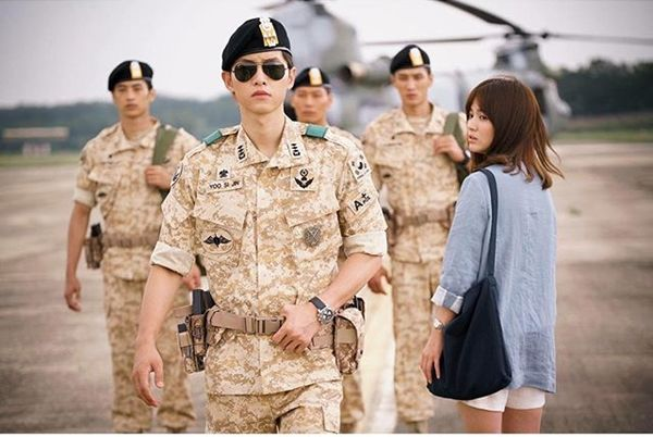 Descendants of the Sun, Song Joong Ki