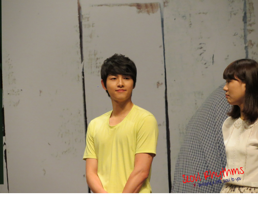 Song Joong Ki, Fan Meet 2a