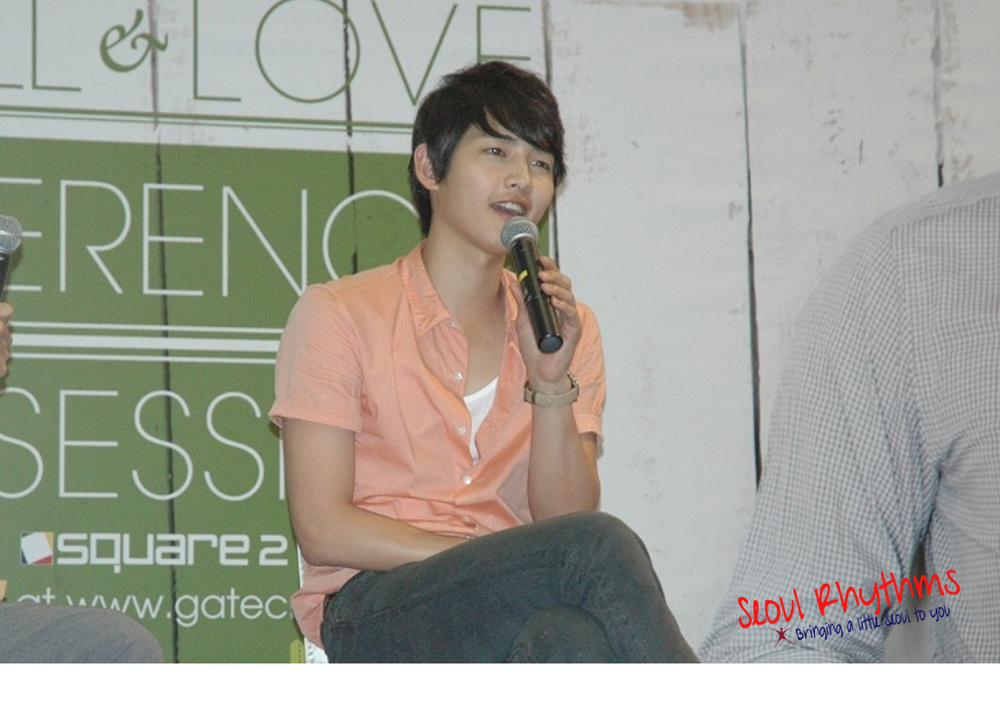 Song Joong Ki,Press Con 2a