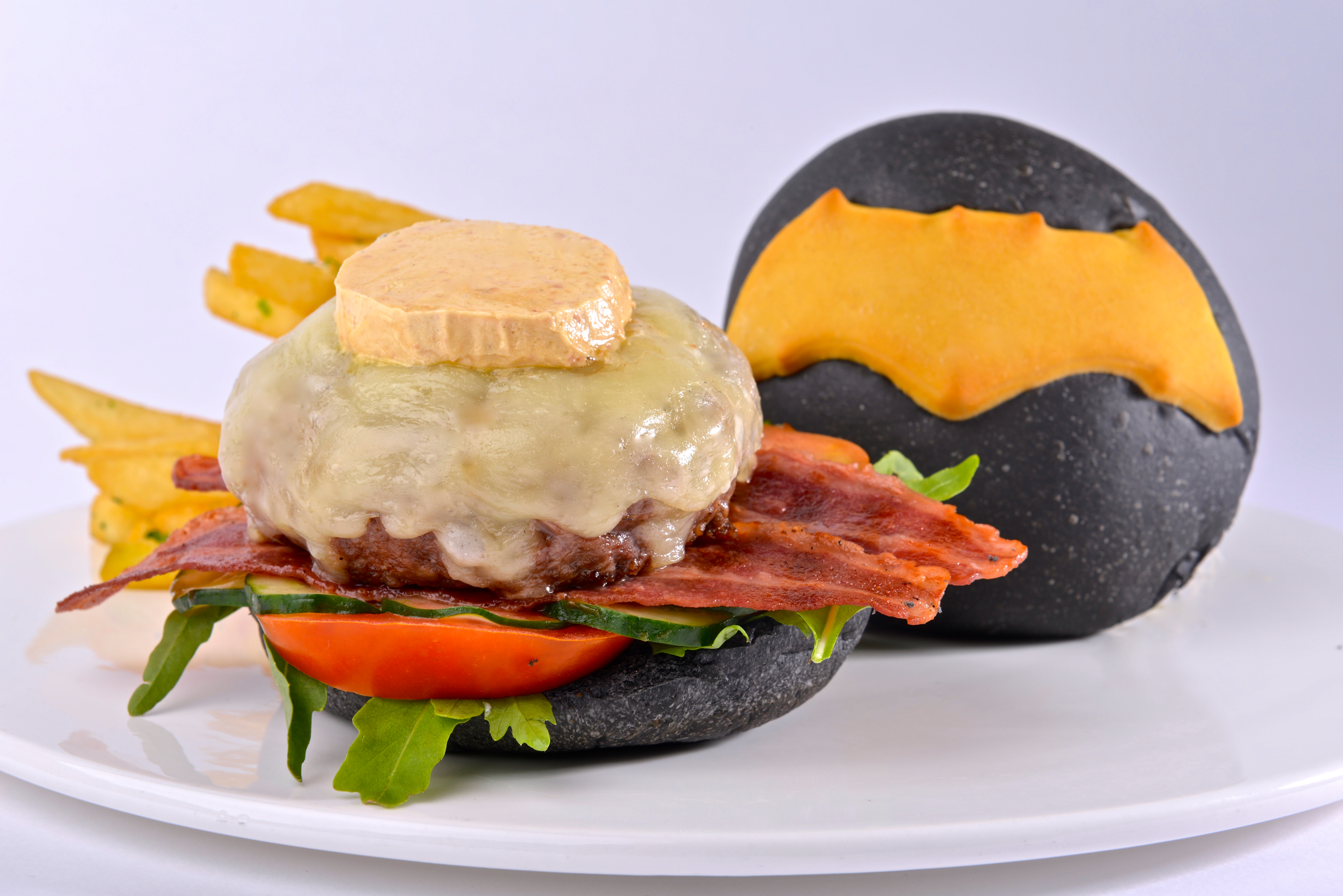 BvS Batman's Wagyu Beef Jaw Burger