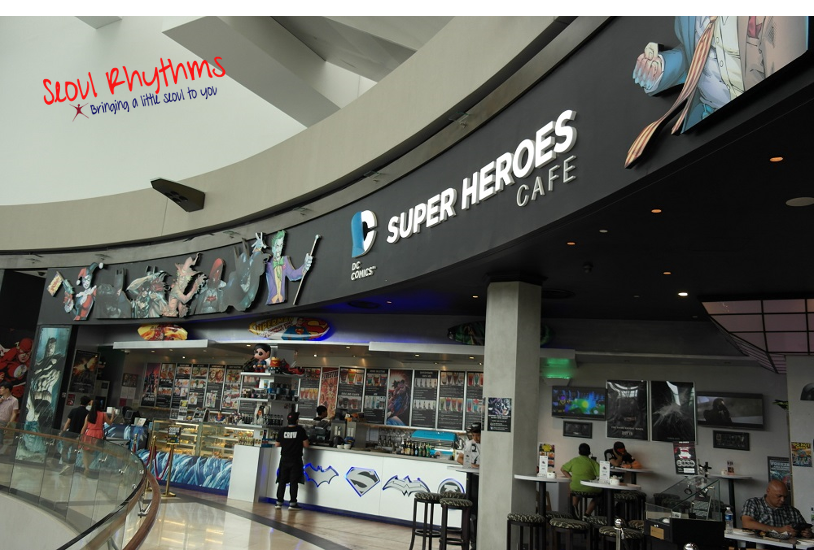 DC Comics Super Heroes Cafe 9