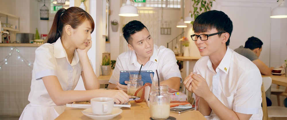 Joyce Chu, Joshua Tan & Aloysius Pang s, Young & Fabulous movie, Copyright Encore Films
