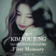 The lovely young actress, Kim Yoo Jung is the next in line to hold a fan meeting Singapore next month. Tickets will go on sale on the 21 April 2017. […]